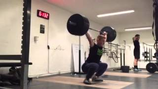 "Snatch: 100 x 1 rep by Philip ""The Gift"" Thun Bisgaard"