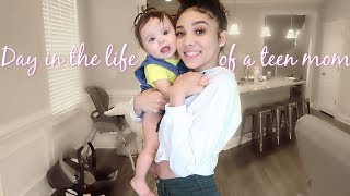DAY IN THE LIFE OF A TEEN MOM | Raquel Moretty