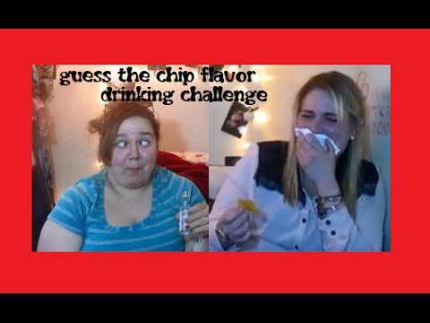 Guess the Chip Flavor Drinking Challenge + Bloopers!