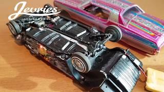 RC lowrider model car Boogie Nights