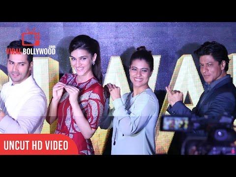 UNCUT - Tukur Tukur - Dilwale | Shah Rukh Khan | Kajol | Varun | Kriti | Rohit Shetty | Song Launch