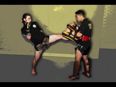 Muay Thai - A Complete Framework for Sparring or Fighting Aggressive Opponents with Philip Tieu