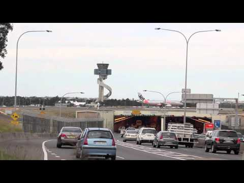 Sydney Airport Runway Tunnel
