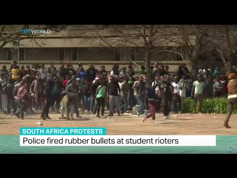 South Africa Protests: 31 students arrested during tuition fee protest