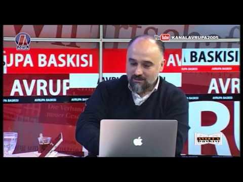 Avrupa Baskısı - Ali Çalışkan 12.02.2017 | Kanal Avrupa