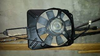 Вентилятор охлаждения радиатора ВАЗ - дурак что не установил раньше!