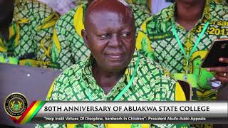 80th Anniversary of Abuakwa State College