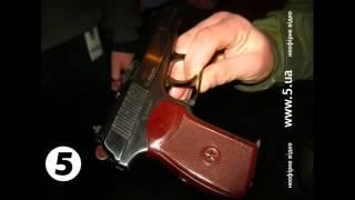На евромайдане задержали неизвестного с пистолетом