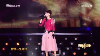【HD】《2012 深圳衛視 跨年音樂祭》伊能靜-念奴嬌 你是我的幸福嗎 螢火蟲