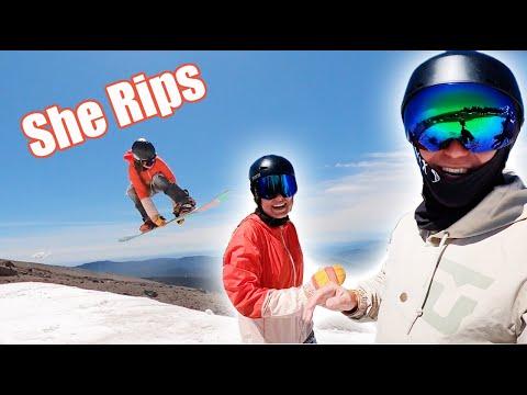 snowboarding-with-jenise-spiteri-at-hood!---(season-4,-day-163)