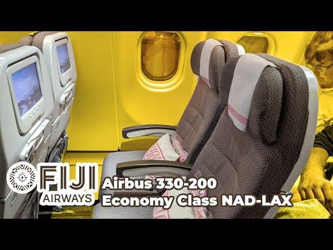 Fiji Airways Economy Experience on the A330-200