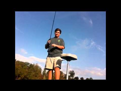 Bass fishing in Chelsea Alabama