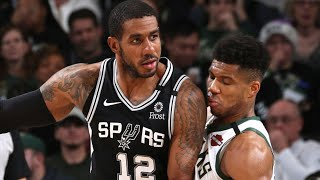 Milwaukee Bucks vs San Antonio Spurs Full Game Highlights | January 4, 2019-20 NBA Season