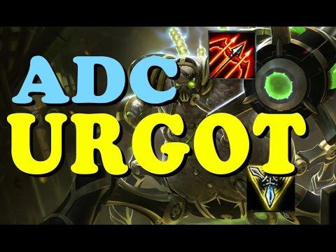 New Pro Level Urgot Build League Of Legends Youtube