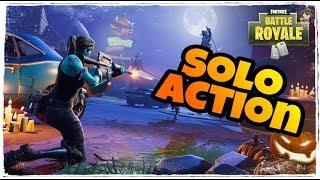 Solo Action - Fortnite Battle Royale! Neue Teammates? Fortnite deutsch live
