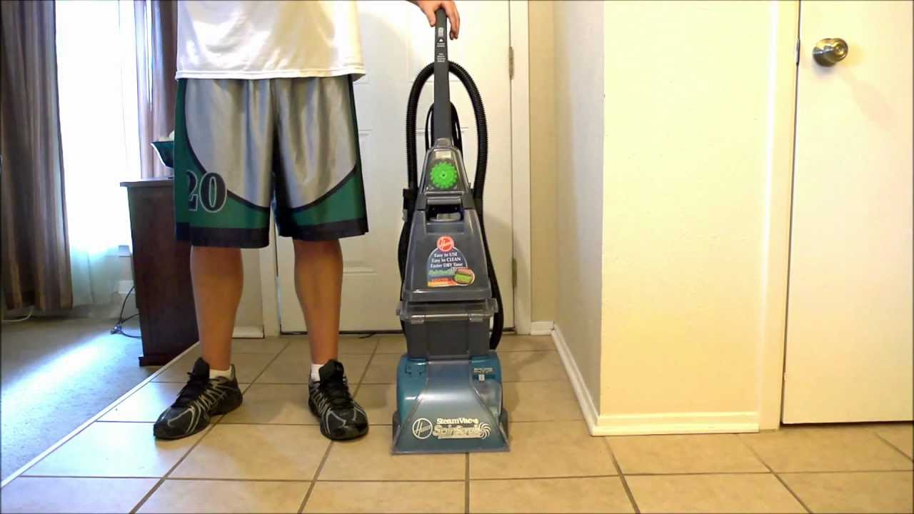 Hoover Steamvac Carpet Cleaner Review   YouTube