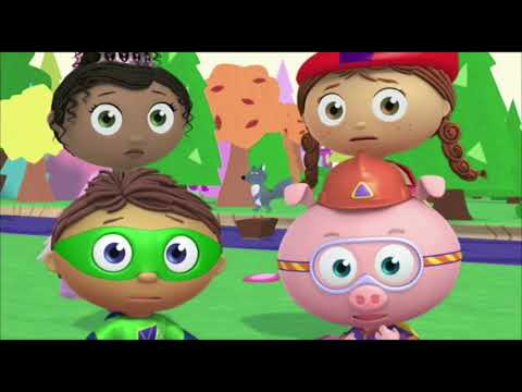 Super WHY! Full Episodes English ✳️ Little Red Riding Hood  ✳️  S01E17
