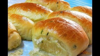 GARLIC DINNER ROLLS - SOFT FLUFFY DELICIOUS ! Garlic Bread Rolls Recipe