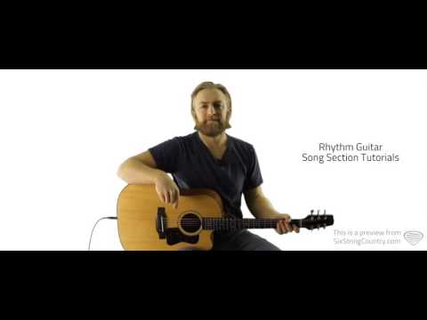 Riser - Guitar Lesson - Dierks Bentley