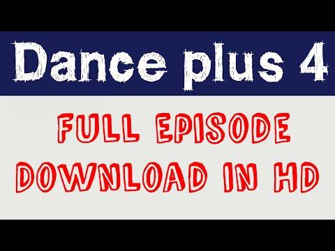 How to download dance plus 4 full episode | Dance +4 full episode|Nasrullah