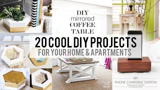 DIY ROOM DECOR! 9 Easy Crafts Ideas you can do at Home