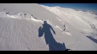 これは怖い! 雪山を滑っていたら突然の雪崩に遭遇して……