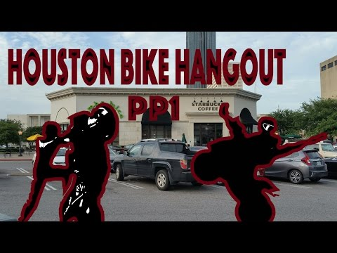 Sport bike hangout | Dont run from cops | Houston MotoVlogger |