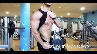 ROWAN ROW - My Workout Routine in 60 seconds