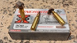 WINCHESTER .308 180 Grain EXPANSION TEST