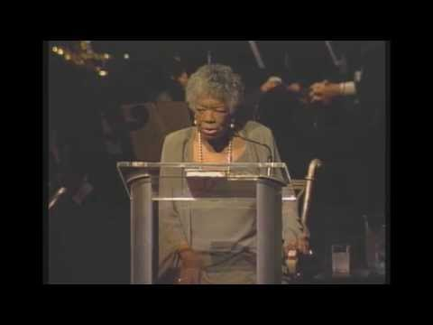 Dr. Maya Angelou's Acceptance Speech of the 2008 Voice of Peace Award