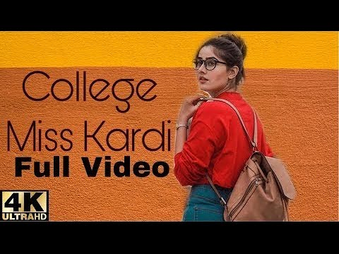 College Miss Kardi (Official Video)Raashi Sood |New Punjabi Song 2018|Wakhra Swag Music
