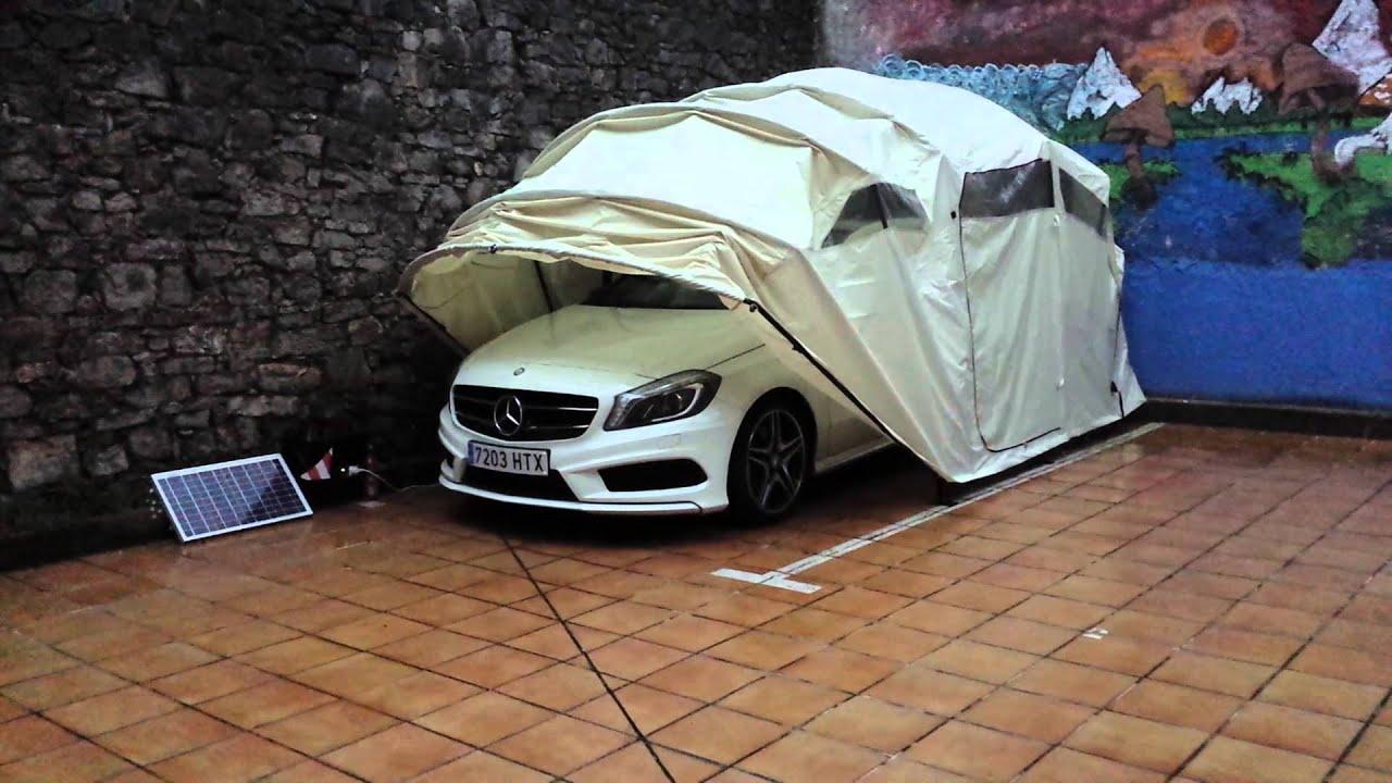 Garaje plegables youtube - Garajes para coches ...