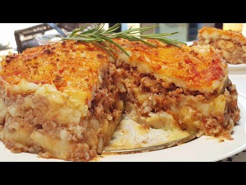 El pastel de patata y carne que enamorará a todo el mundo ¡COMPRUEBALO!