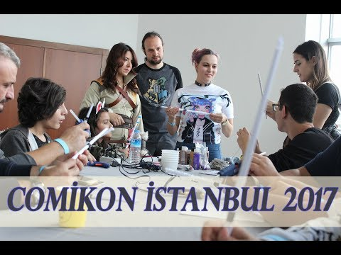Comikon İstanbul Vlog