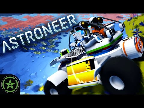 Let's Play - Astroneer: Get Trucked!