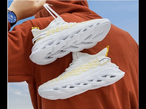 Latest Fashion Chunky Sole Flying Mesh Youth Boys Sneakers