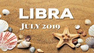 "LIBRA ""BREAKUP - MAKEUP?"" JULY 2019 MONTHLY TAROT READING"