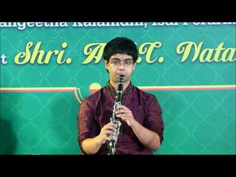 Vathapi Ganapathim on Clarinet