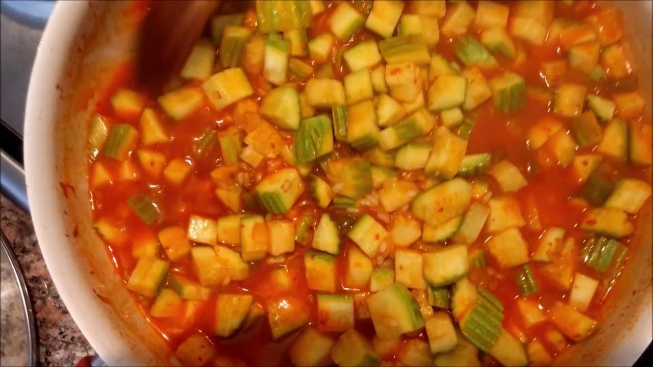 Hafif Pirinçli Kabak Yemeği Tarifi Nasıl Yapılır
