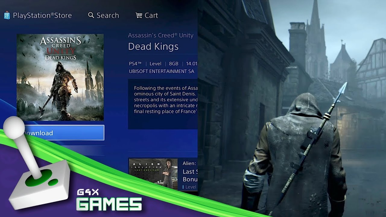 assassinand 39 s creed games ps4. assassin\u0027s creed unity - dead kings how to download \u0026 find dlc on ps4 assassinand 39 s games ps4 o