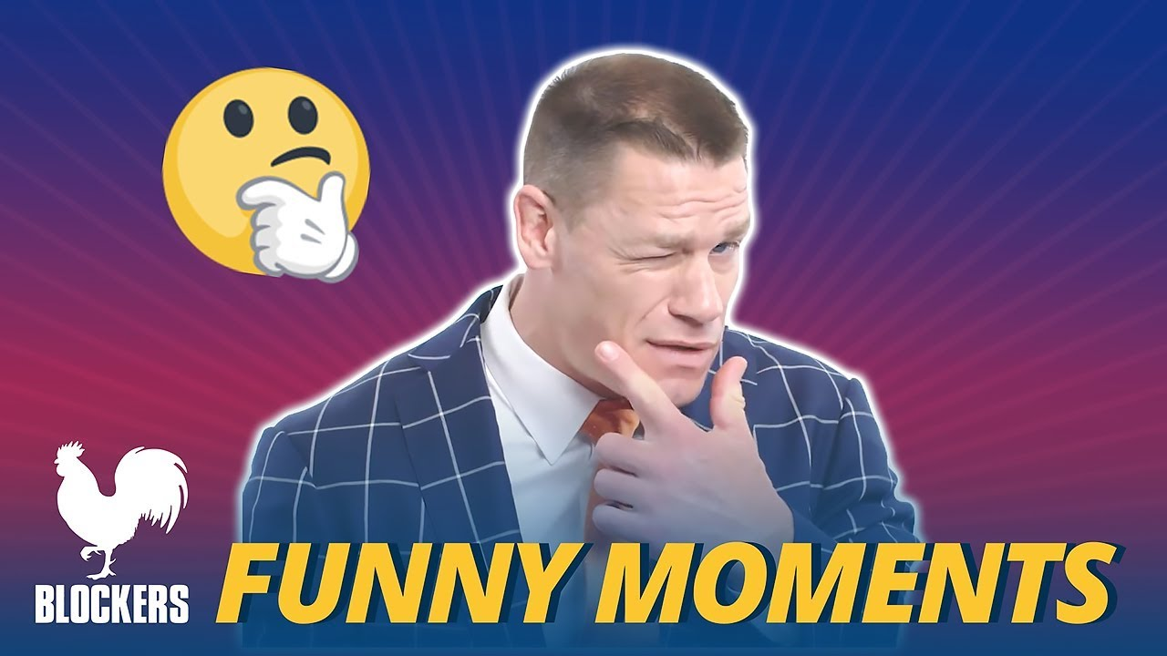 Blockers Cast Bloopers Funny Moments - John Cena (2018)