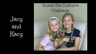 Guess the Costume Challenge ~ Jacy and Kacy