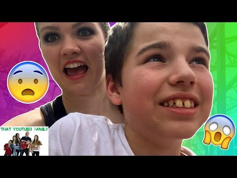 Thumbnail: Riding Scary Rides at Amusement Park / That YouTub3 Family
