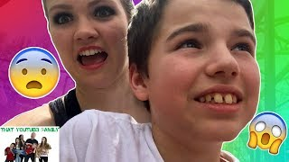 Riding Scary Rides at Amusement Park / That YouTub3 Family