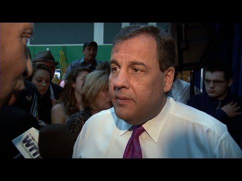 Gov. Chris Christie talks with NJTV News Chief Political Correspondent Michael Aron