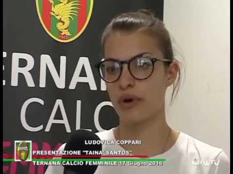 ONTV: TERNANA FEMMINILE presentazione TAINA SANTOS