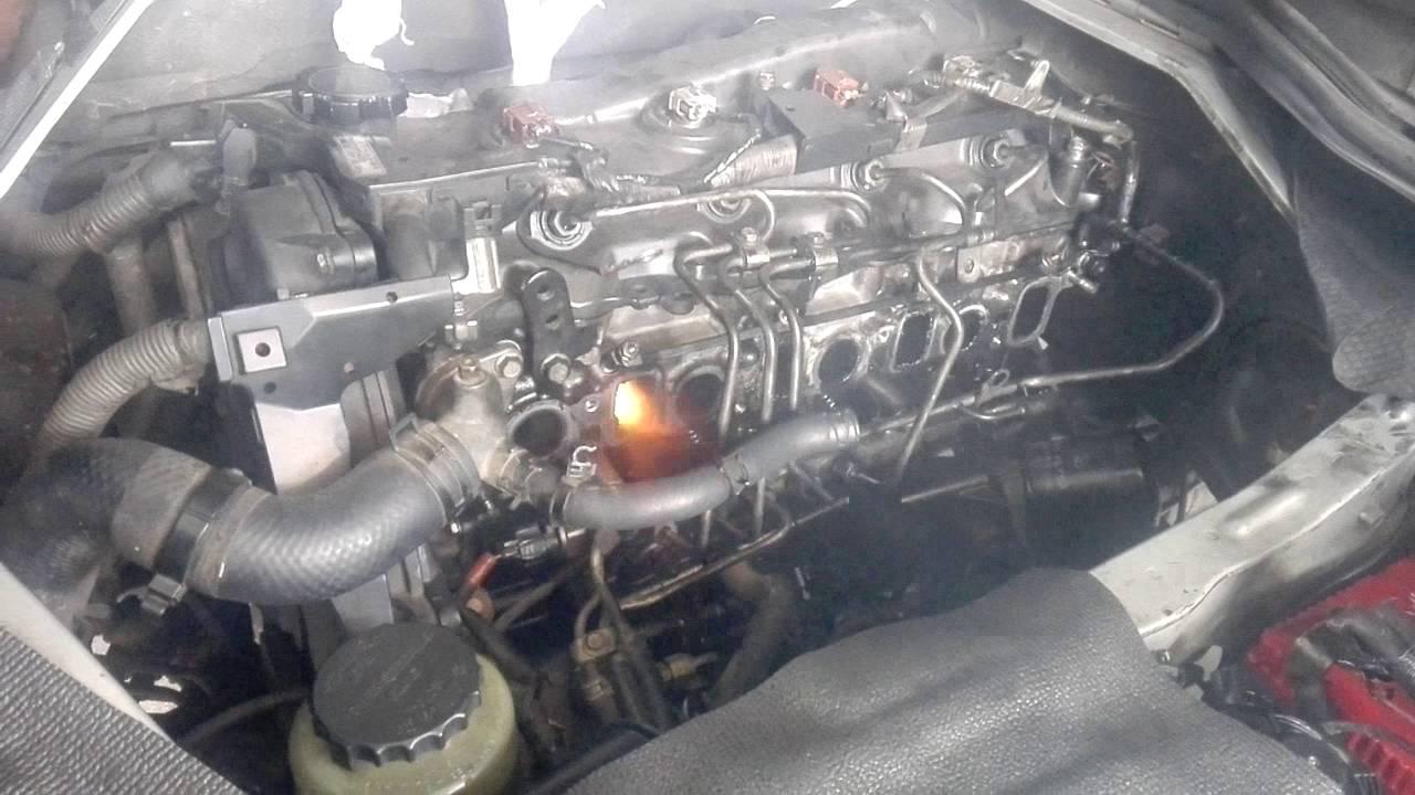 Toyota 2KD FTV misfire