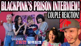 BLACKPINK PRISON INTERVIEW (COUPLE REACTION!)