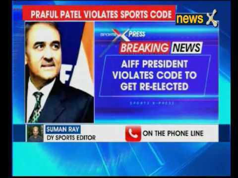 Praful Patel re-elected as AIFF president for third term; football body violates sports code