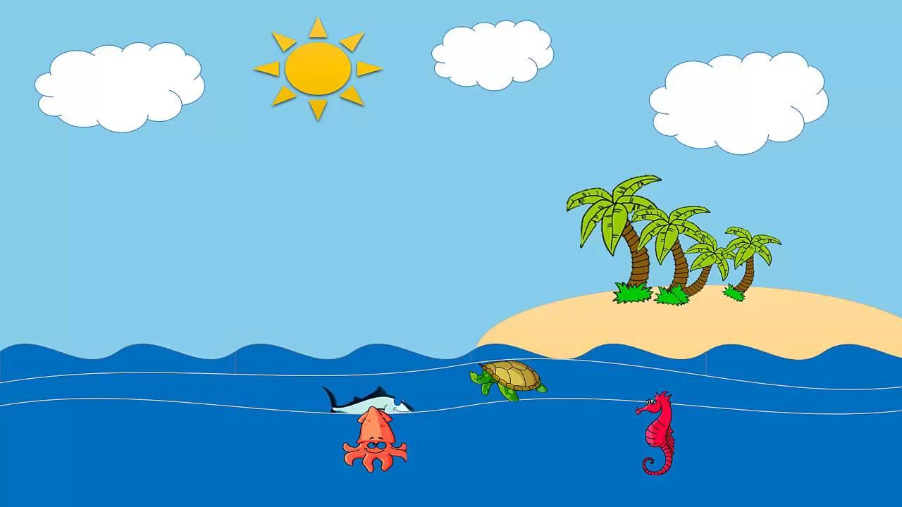 Resultado de imagen de oceanos infantil